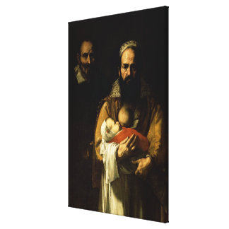 The Bearded Woman Breastfeeding, 1631 Canvas Print
