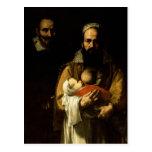 The Bearded Woman Breastfeeding, 1631 Postcard