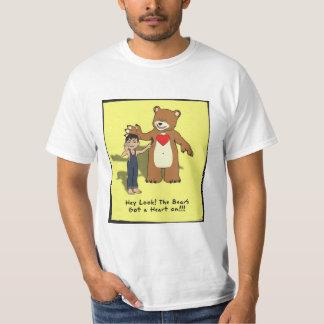 the bear's heart t shirt