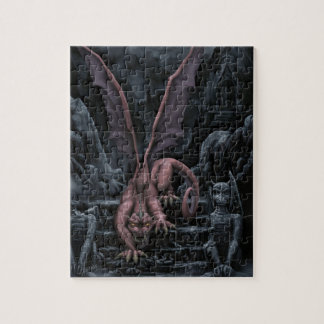 The Beast (Cool tones) Jigsaw Puzzle