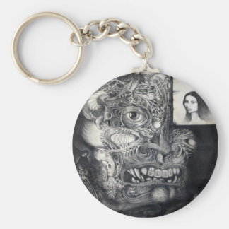 THE BEAST OF BABYLON KEYCHAIN