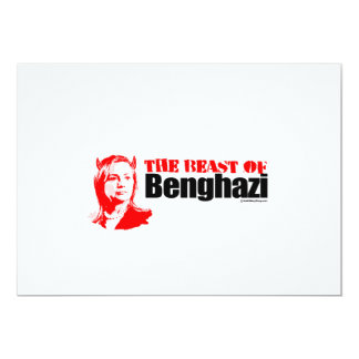 The Beast of Benghazi Announcement Cards