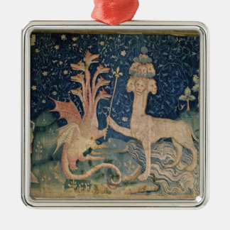 The Beast of the Sea with Seven Heads Christmas Tree Ornament