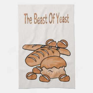 The Beast of Yeast Hand Towel