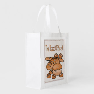 The Beast of Yeast Reusable Grocery Bag