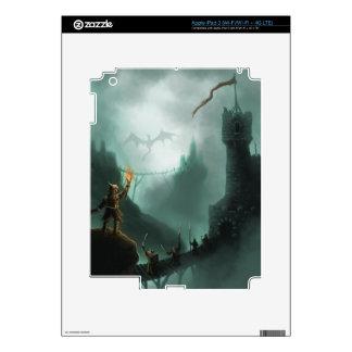 the beast returns fantasy iPad skin