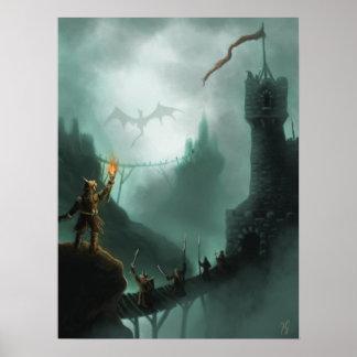 the beast returns fantasy poster