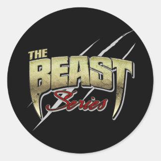 The Beast Series Classic Round Sticker