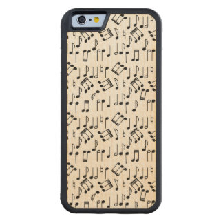 The Beat Goes On Carved Maple iPhone 6 Bumper Case