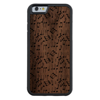 The Beat Goes On Carved Walnut iPhone 6 Bumper Case