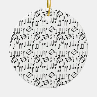 The Beat Goes On Ceramic Ornament