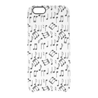 The Beat Goes On Clear iPhone 6/6S Case
