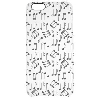 The Beat Goes On Clear iPhone 6 Plus Case