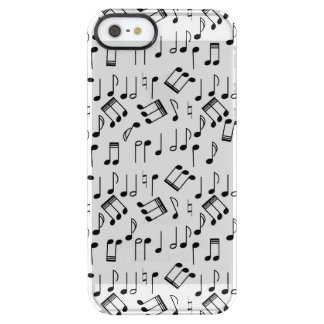 The Beat Goes On Clear iPhone SE/5/5s Case