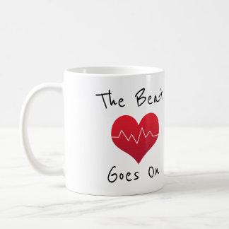 The Beat Goes On Coffee Mug