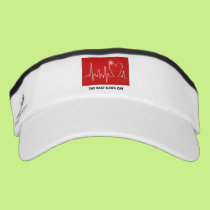 The Beat Goes on - Funny Post-Heart Attack Visor