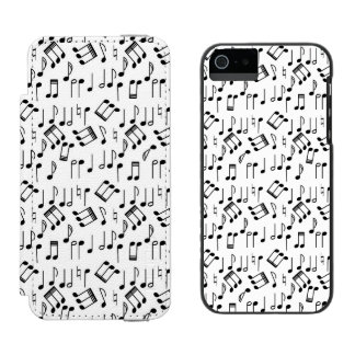 The Beat Goes On iPhone SE/5/5s Wallet Case