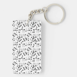 The Beat Goes On Keychain