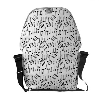 The Beat Goes On Messenger Bag