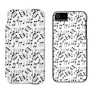 The Beat Goes On Wallet Case For iPhone SE/5/5s