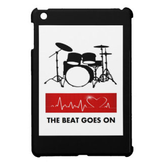 The Beat of a Drummer's Heart iPad Mini Covers