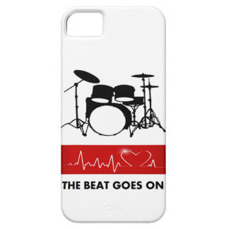 The Beat of a Drummer's Heart iPhone SE/5/5s Case