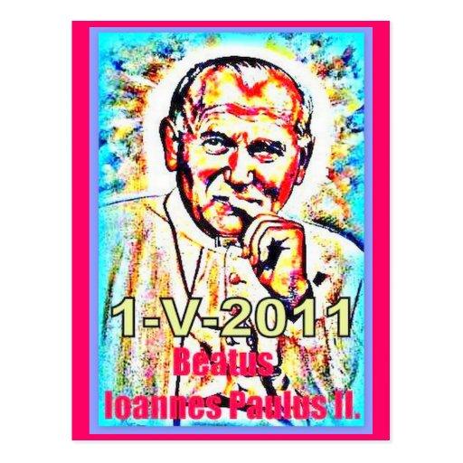 The beatification of John Paul II - 2011-05-1 Post Cards