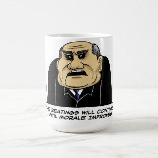 The Beatings Will Continue Coffee Mug