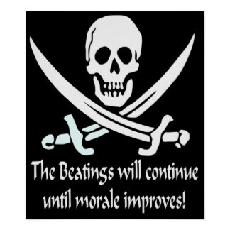 the beatings will continue poster