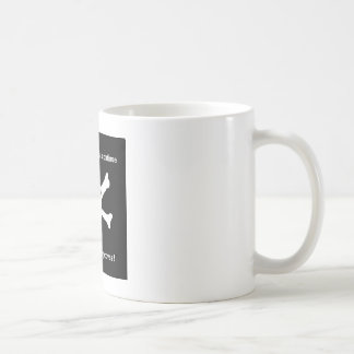 The beatings will continue until morale improves ! coffee mug
