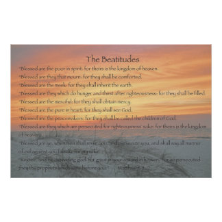 The Beatitudes Posters