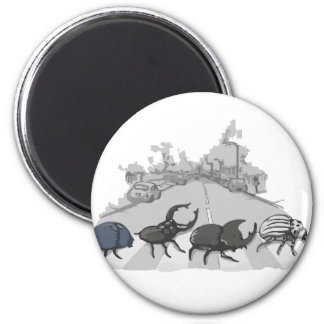 The Beatles 2 Inch Round Magnet
