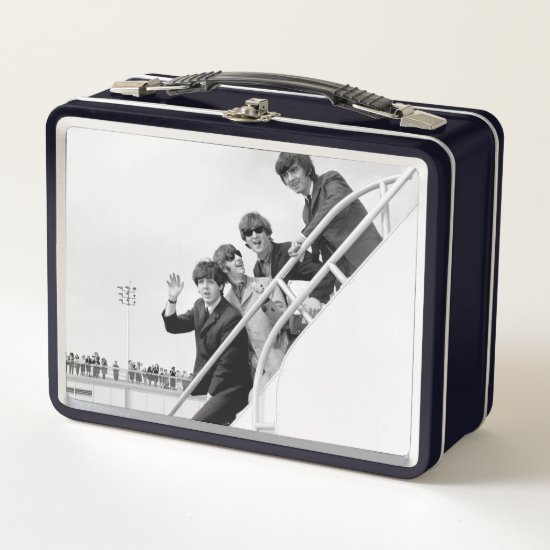 The Beatles | Arriving at Kennedy Airport Metal Lunch Box