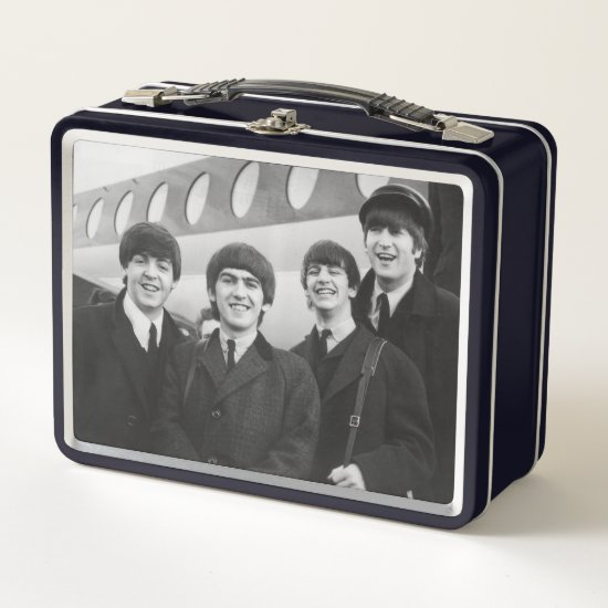 The Beatles Arriving at the Airport Metal Lunch Box