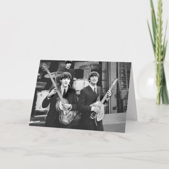 The Beatles | B&W Card