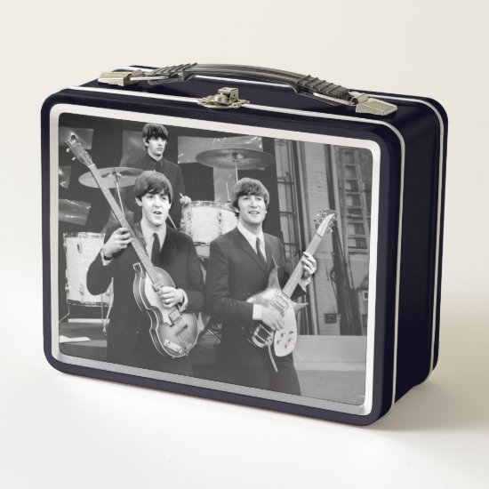 The Beatles | B&W Metal Lunch Box