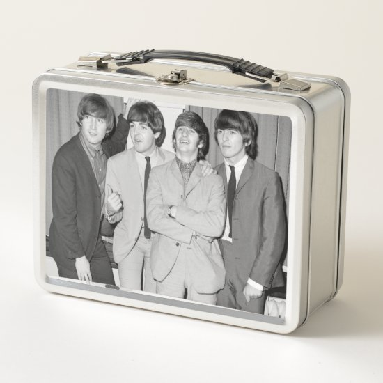 The Beatles | B&W Photo Metal Lunch Box