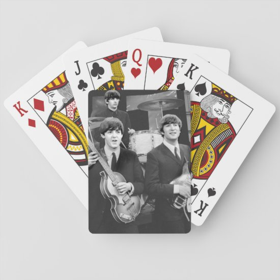 The Beatles | B&W Playing Cards
