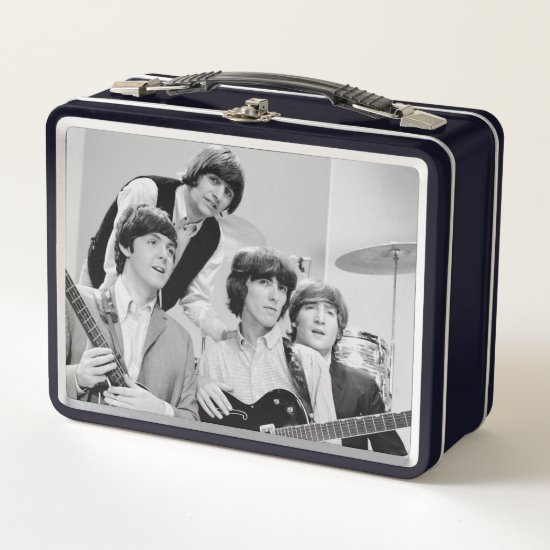 The Beatles | In B&W Metal Lunch Box