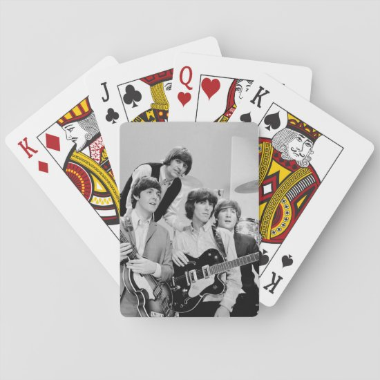 The Beatles | In B&W Playing Cards