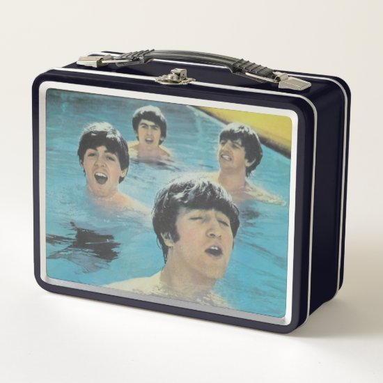 The Beatles | LIFE Magazine, February 1984 Metal Lunch Box