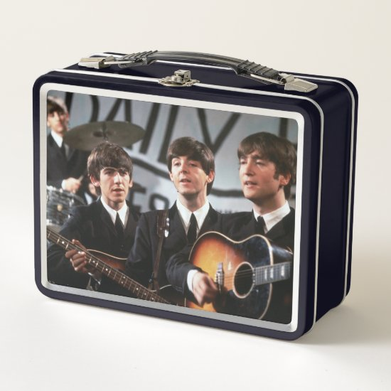 The Beatles | Performing Metal Lunch Box