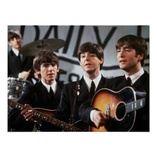 The Beatles   Performing Poster