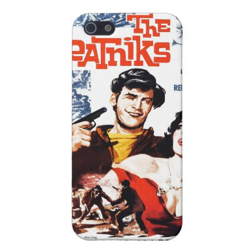 """""""The Beatniks"""" iPhone Case iPhone 5 Covers"""