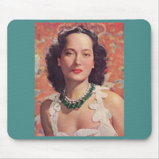 the beauteous Merle Oberon Mouse Pad
