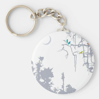 The beauties of nature_z02b basic round button keychain