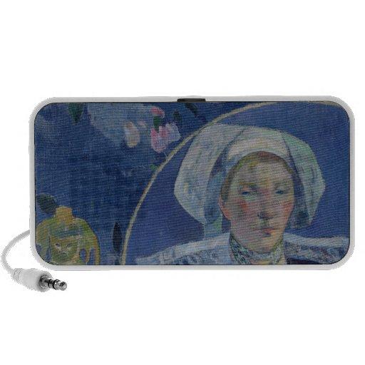 The Beautiful Angel , 1889 iPod Speaker