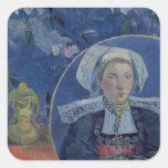 The Beautiful Angel , 1889 Square Sticker