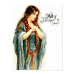 The Beautiful Beggar Maid Postcard