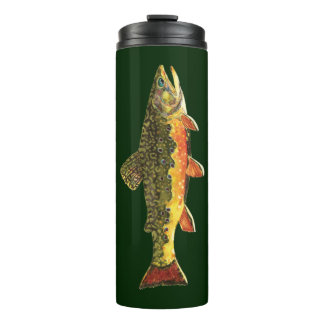 The Beautiful Brook Trout Thermal Tumbler